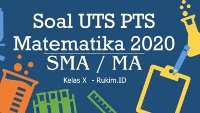 Download Soal PTS Matematika Kelas 10 PDF