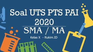 Photo of Download Soal PAI PTS UTS Kelas X Semester Genap 2020 PDF