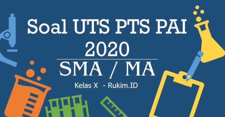 Download Soal PTS PAI Kelas 10 PDF
