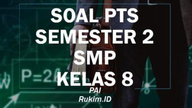 Download Soal PTS PAI SMP Kelas 8 Semester 2 Genap