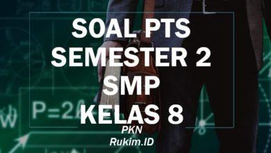 Download Soal PTS PENJASORKES SMP Kelas 8 Semester 2 Genap