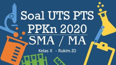 Photo of Download Soal PPKn PTS UTS Kelas X Semester Genap 2020 PDF