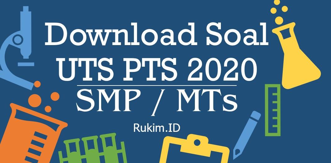 Download Soal PTS SMP Kelas VII Semester 2 MID Semester Genap