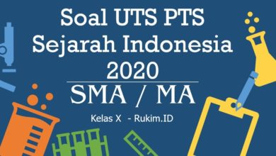 Photo of Download Soal Sejarah Indonesia PTS UTS Kelas X Semester Genap 2020 PDF