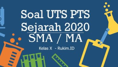 Photo of Download Soal Sejarah PTS UTS Kelas X Semester Genap 2020 PDF
