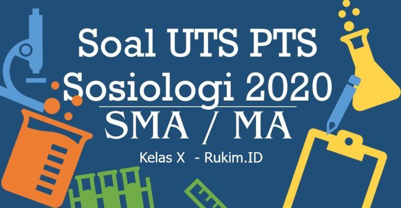 Download Soal PTS Sosiologi Kelas 10 PDF