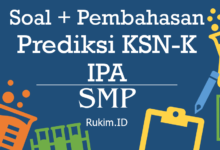 Download Soal Pembahasan KSN-K SMP 2020 IPA