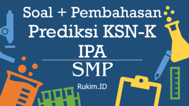 Photo of Download Prediksi Soal dan Pembahasan IPA KSN SMP Tingkat Kabupaten/Kota/Provinsi