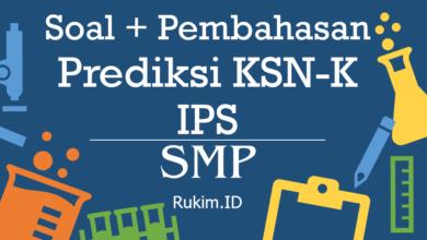 Photo of Download Prediksi Soal dan Pembahasan IPS KSN SMP Tingkat Kabupaten/Kota/Provinsi