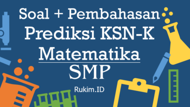 Download Soal Pembahasan KSN-K SMP 2020 Matematika