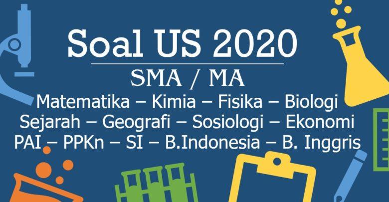 Download Soal Pembahasan US USBN 2020 PDF