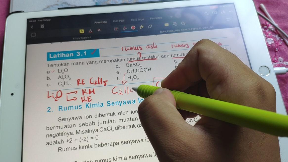 Guru Mengajar Online dengan iPad 7
