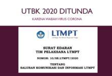 Pendaftaran dan Pelaksanaan UTBK 2020 Ditunda karena Virus Corona