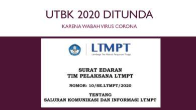 Photo of UTBK 2020 Ditunda, Berikut Jadwal Pendaftaran dan Pelaksanaan