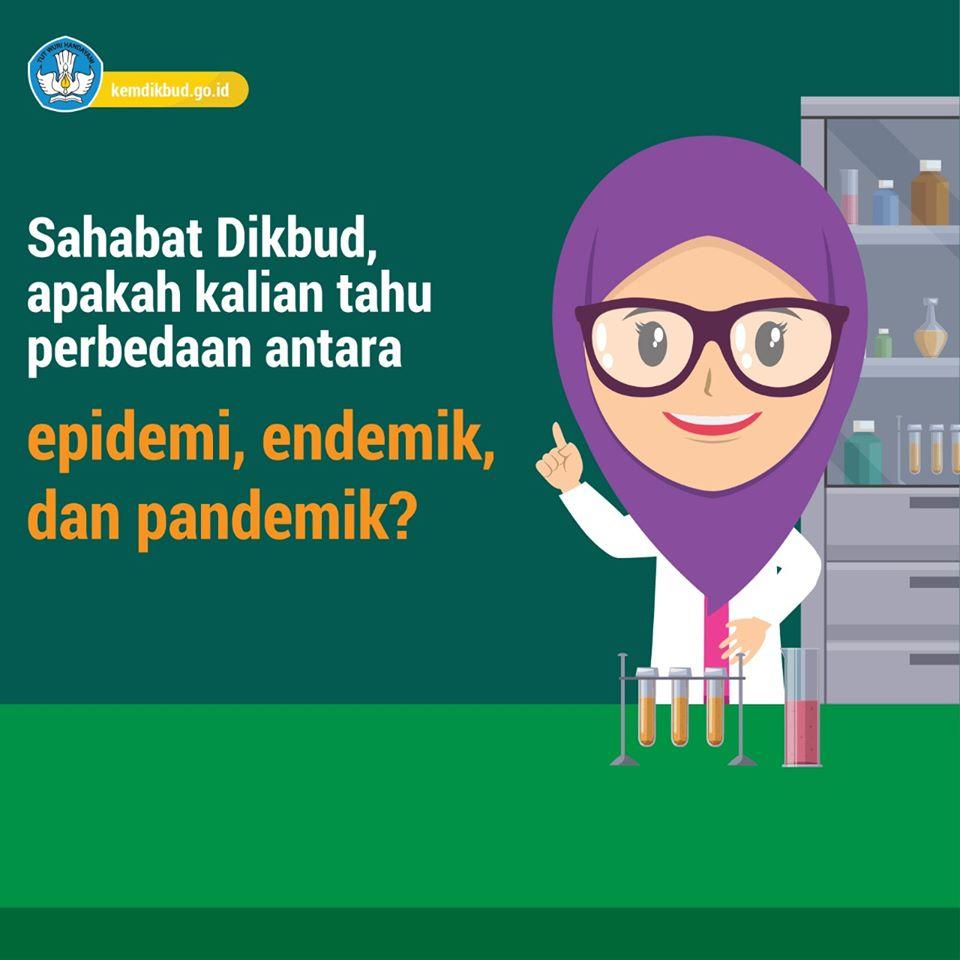 Perbedaan Pandemik Endemik Epidemi Wabah