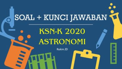 Photo of Download Soal KSN-K 2020 Astronomi SMA PDF dan Kunci Jawaban