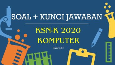 Photo of Download Soal KSN-K 2020 Informatika Komputer SMA PDF dan Kunci Jawaban