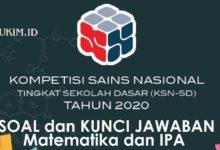 Photo of Soal dan Kunci Jawaban IPA KSN-K SD 2020 PDF Tingkat Kabupaten/Kota