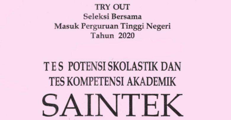 TPS TKA Saintek ebook soal pembahasan