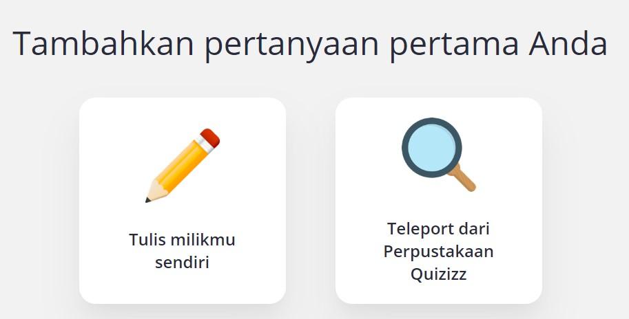 Cara Membuat Tes Online Quizizz