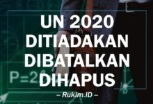 Photo of UN 2020 Resmi Dihapus Karena Virus Corona