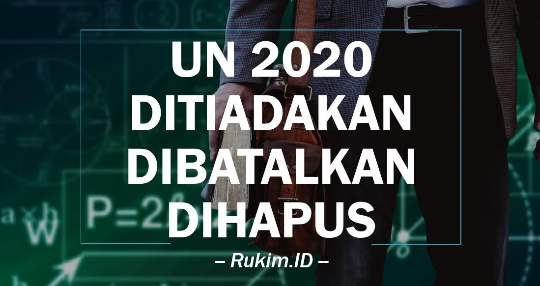 UN 2020 Ditiadakan