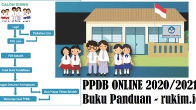 Buku Panduan PPDB Online 2020 2021 PDF