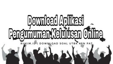 Download Aplikasi Kelulusan SD SMP SMA