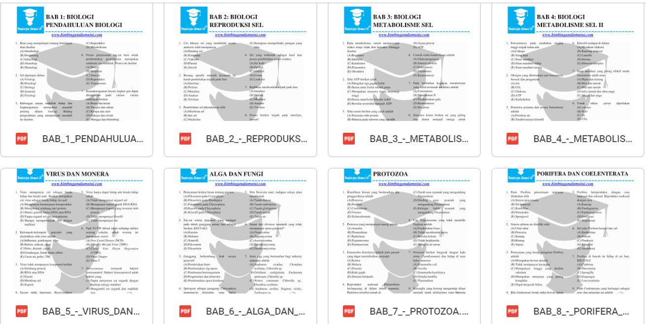 Download Prediksi Soal UTBK 2020 TPS TKA Saintek Soshum Bimbingan Alumni Lengkap PDF
