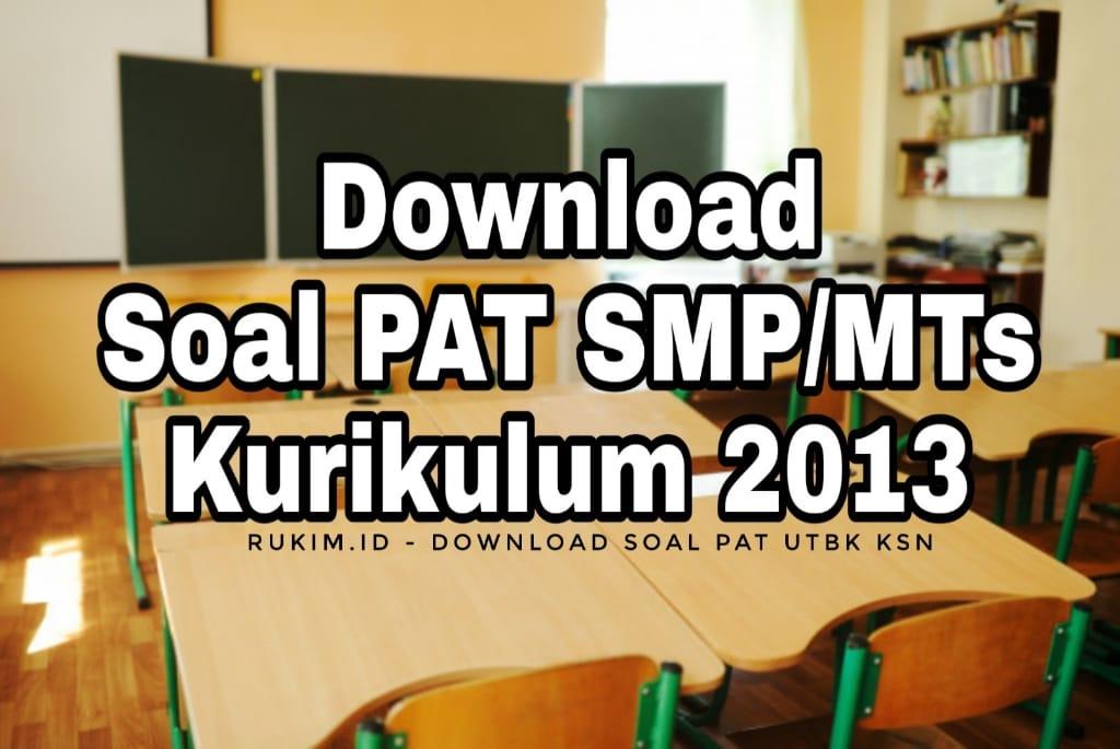 Download Soal PAT UKK SMP MTs 2020 PDF