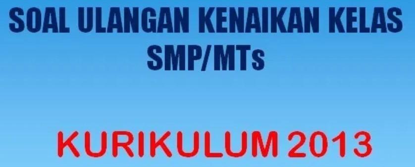 Download Soal UKK PAT SMP MTs 2020