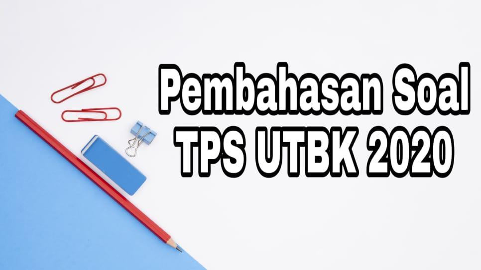 Download Soal dan Pembahasan TPS UTBK 2020 PDF