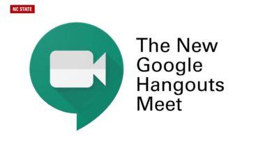 Photo of Google Hangout Meeting Aplikasi Mengajar Online Video Conference Terbaik
