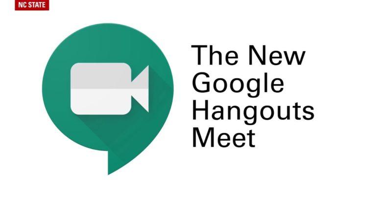 Google Hangout Meet aplikasi mengajar online