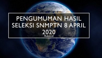 Pengumuman Hasil SNMPTN 8 April 2020