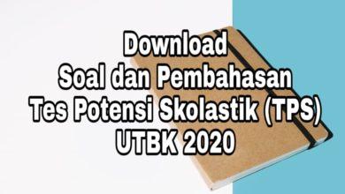Soal dan Pembahasan TPS UTBK 2020 PDF