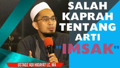 Photo of Kumpulan Kultum Ramadhan: Waktu Malaksanakan Sahur dan Kesalahpahaman Waktu Imsak