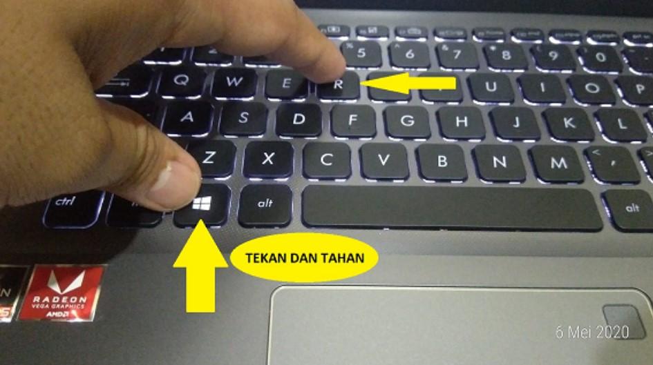 Cara hapus sampah laptop lemot