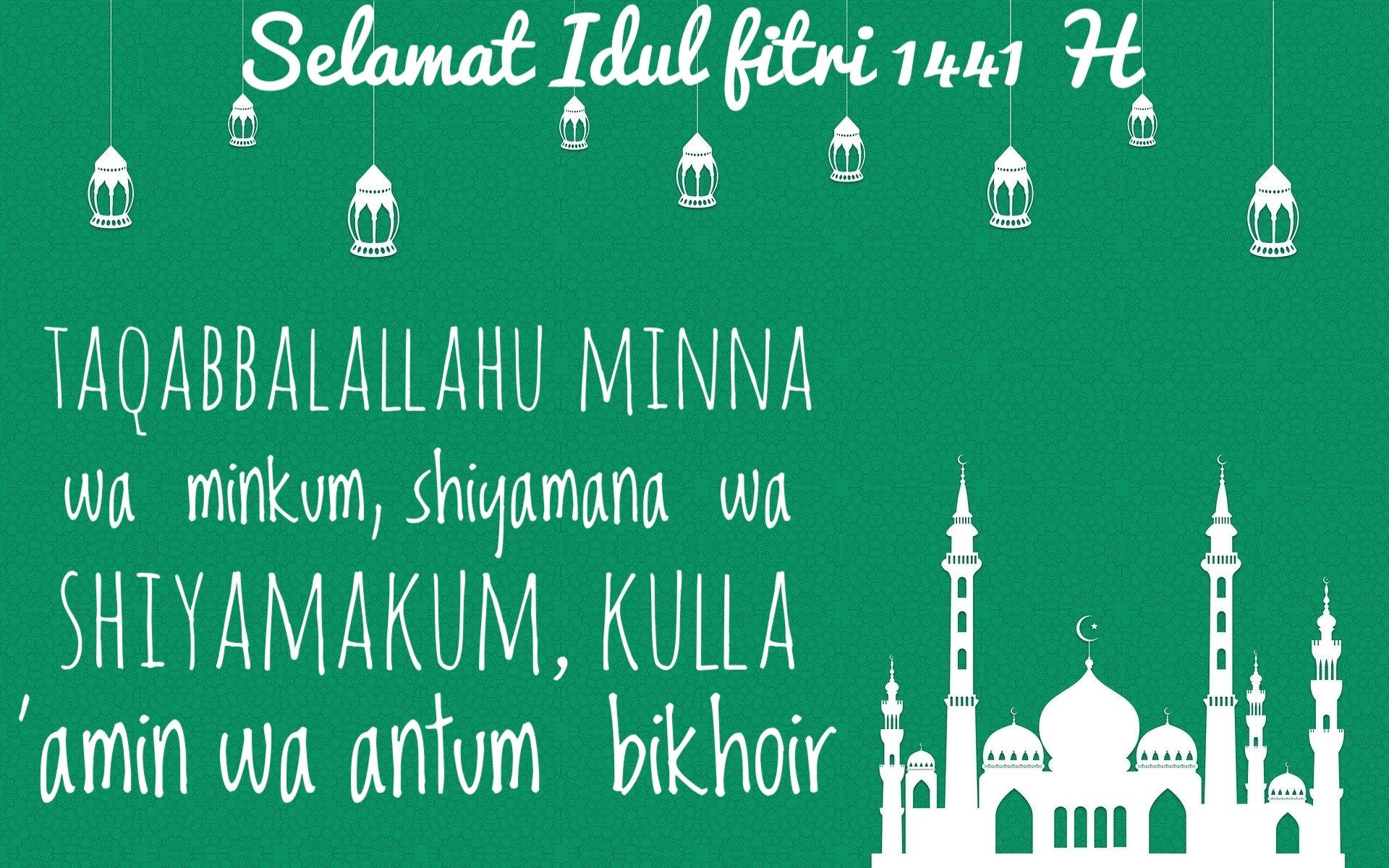 Download Wallpaper Ucapan Selamat Idul Fitri
