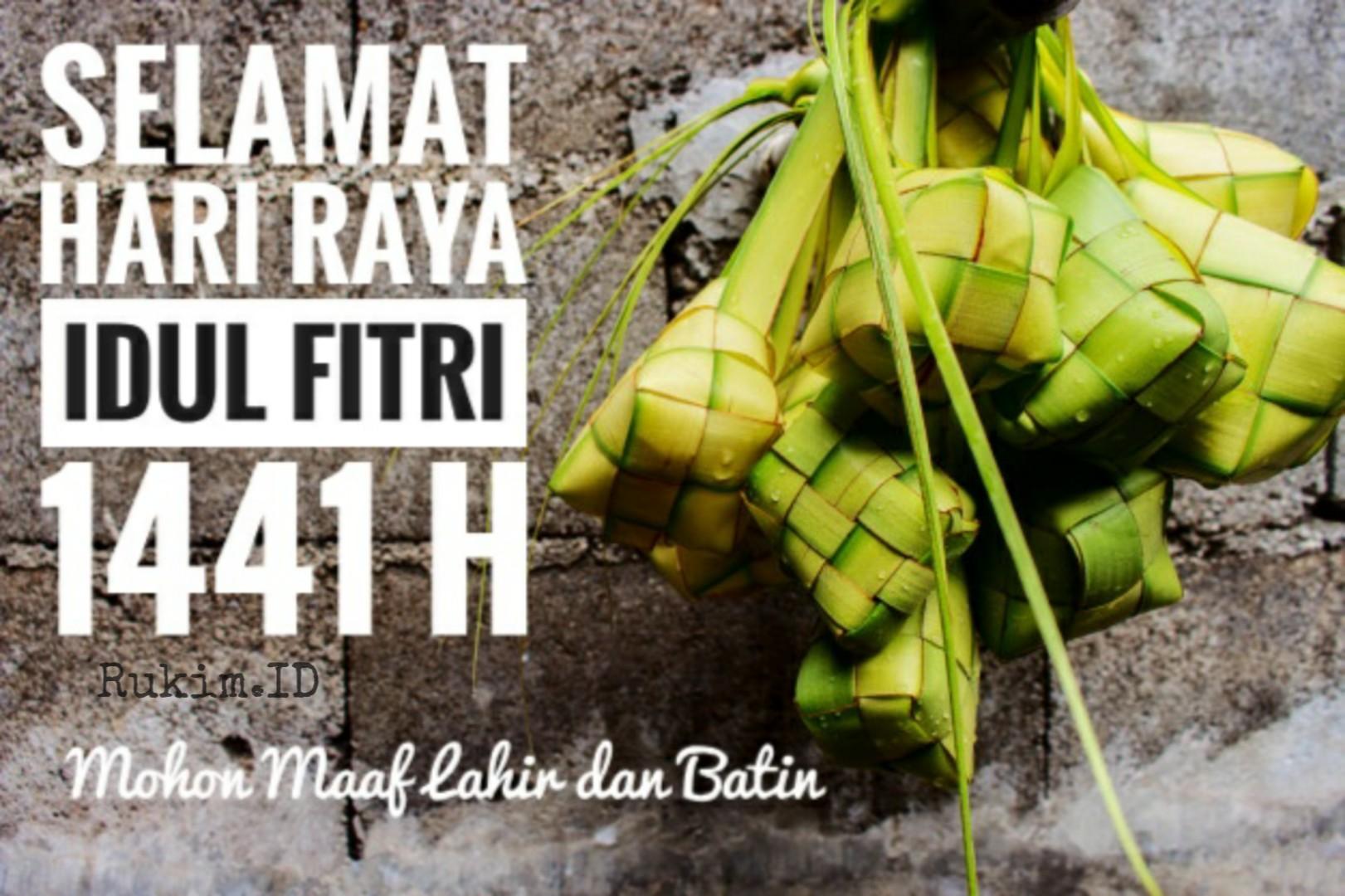 Gambar Ucapan Selamat Idul Fitri 1441 H