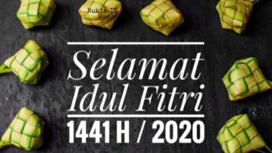 Photo of ✓ Kumpulan Ucapan Idul Fitri 2020 / 1441 H Terbaru dan Fresh