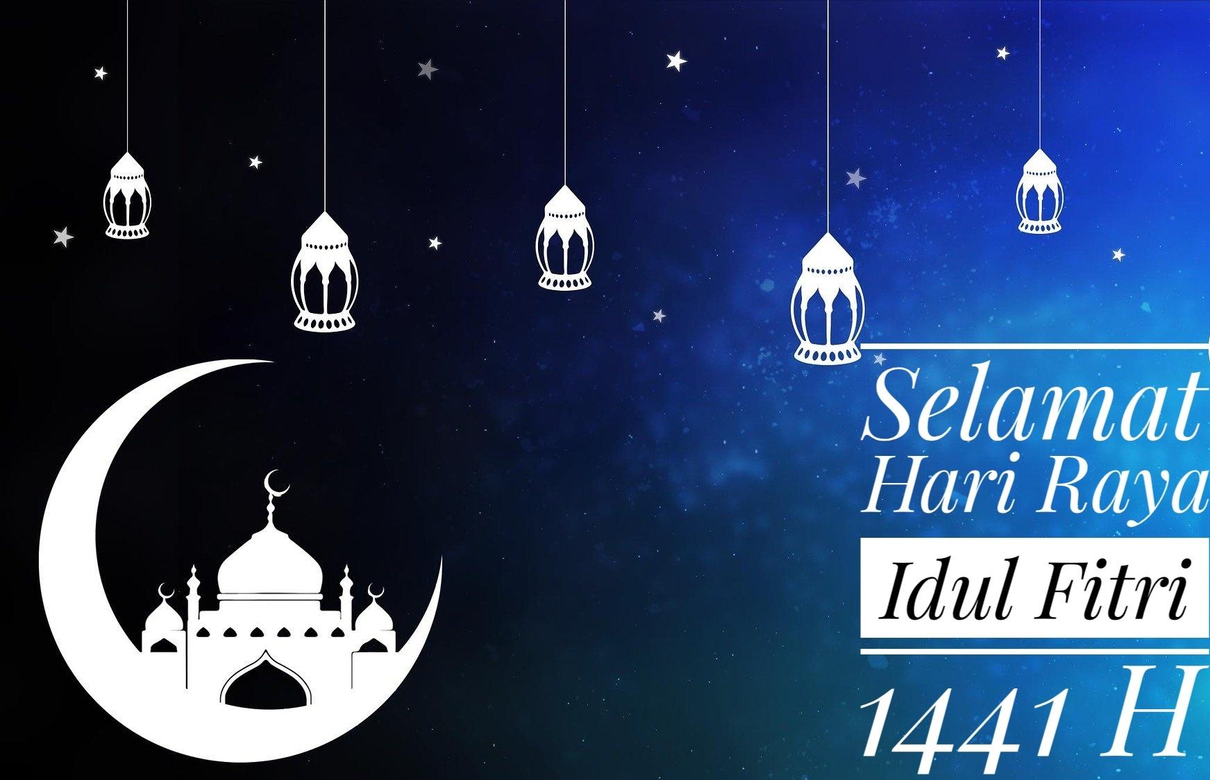 Gambar Ucapan Selamat Idul Fitri HD