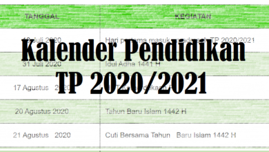 Photo of Download Kalender Pendidikan Kaldik Tahun 2020/2021 Terbaru