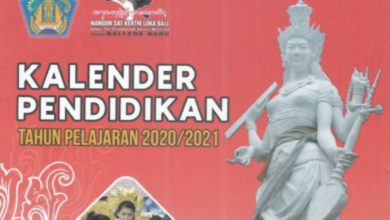 Photo of Download Kalender Pendidikan Kaldik Bali Tahun 2020/2021