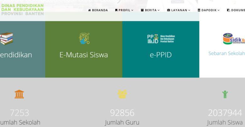 Kaldik Banten 2020 2021 Dindikbud