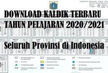Kaldik Terbaru Tahun 2020 2021