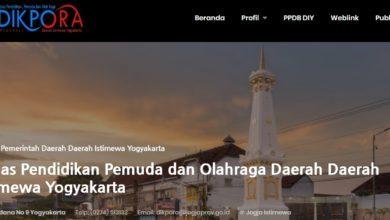 Kaldik Yogyakarta 2020 2021 Dikpora