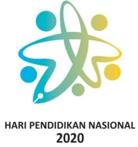 Logo Hardiknas Hari Pendidikan Nasional 2020
