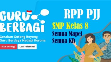 Photo of Download RPP PJJ Bahasa Indonesia SMP Kelas 8 Tahun 2020