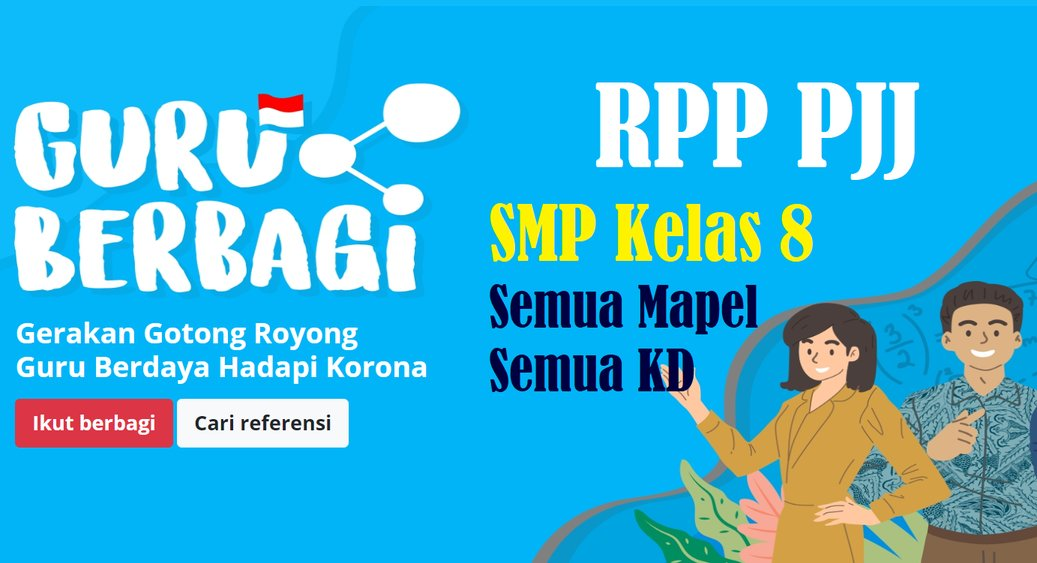 RPP PJJ SMP Kelas 8